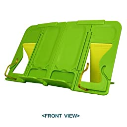 mySmartStand - Green / Portable & Compact / Light Weight / Folds into Palm-sized book stand (11.61\