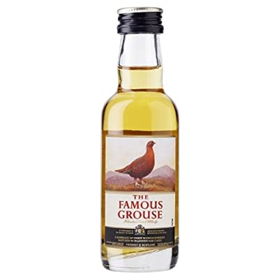 Famous Grouse 5cl Miniature Blended Whisky - 12 Pack by Famous Grouse