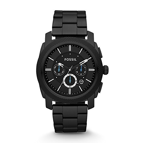 fossil-mens-fs4552-machine-black-stainless-steel-chronograph-watch