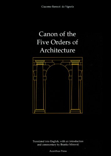 Canon of the Five Orders of Architecture PDF