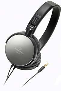 Audio-Technica ATH-ES7 Portable Headphones, Black
