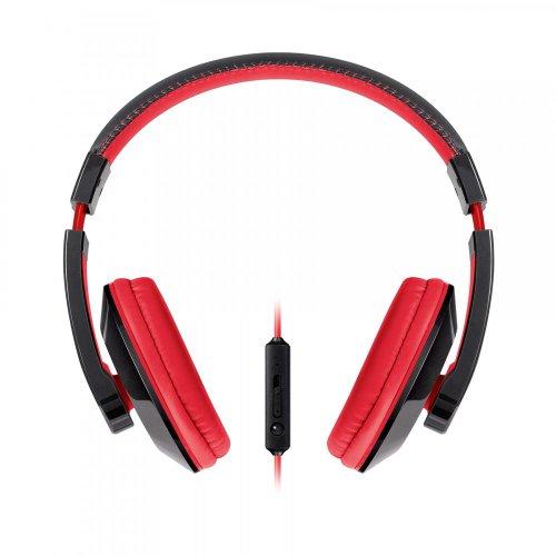 Urban Beatz Tempo Headphone with Mic - Black/Red (M-HM715)