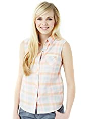 Angel Pure Cotton Checked Shirt