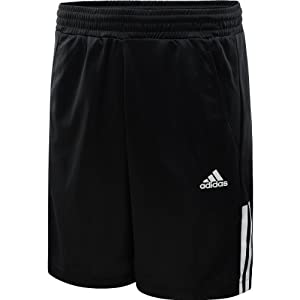Buy Adidas Mens Tennis Galaxy Short (Black White) by adidas