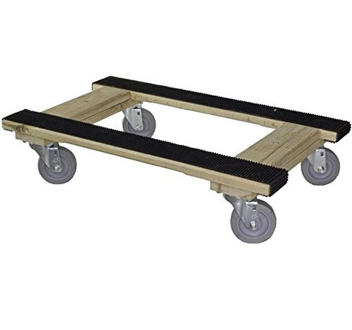 H Frame Furniture Movers Dolly With Grip Tread Soft Gray Wheel 18 Wide X 30 Dollies