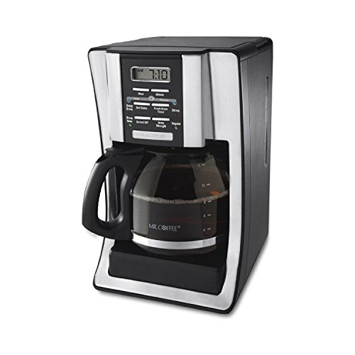 Mr. Coffee BVMC-SJX33GT 12-Cup Programmable Coffeemaker (Certified Refurbished)