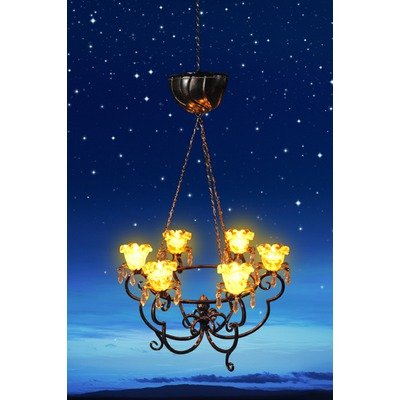 Exhart Anywhere Lighting Battery Operated Chandelier !  sc 1 st  Non Electric Chandeliers Right Now & Exhart Anywhere Lighting Battery Operated Chandelier | !8: Non ...