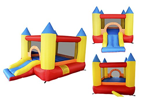 Inflatable Bounce Play House Mighty Slide Moonwalk Jumper Bouncer Bouncy Jump Castle #2