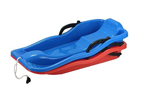 neige luge en plastique kids luge pour hiver plein air sport luge enfants hiver jouets bleu. Black Bedroom Furniture Sets. Home Design Ideas