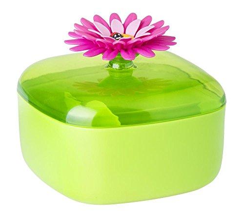VIGAR-Flower-Power-Saliera-Verde-Magenta