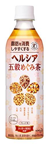 [Tokuho] healthya bumper Megumi tea 500ml×24 book