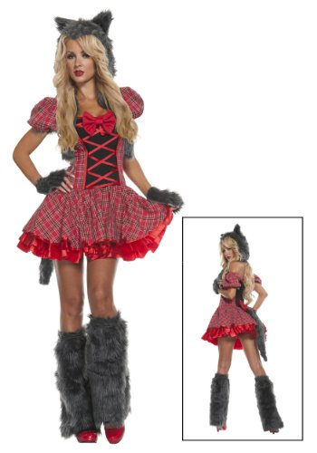 Fun Costumes Women's Exclusive Riding Wolf Costume
