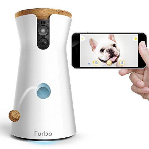 Furbo Dog Camera: Treat Tossing, HD Wifi Cam, and 2-Way Audio