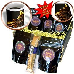 Vacation Spots - Eiffel Tower - Coffee Gift Baskets - Coffee Gift Basket