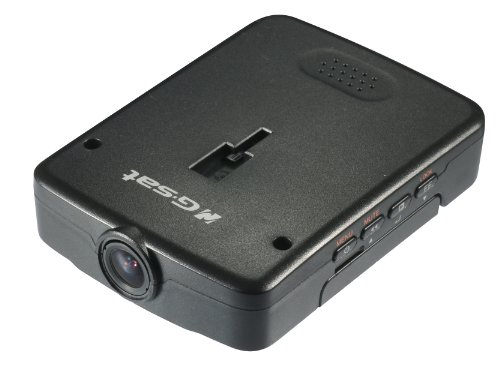 Globalsat RV-1000S 720P HD 120-Degree Wide Angle Recording Video Camera with 3D G-Sensor