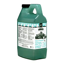 Green Solutions Glass Cleaner 102 Green Solutions Dispensed # 351202, 4-2Liter -(1 CASE)