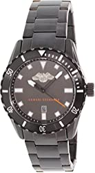 Armani Exchange Black Dial Black PVD Stainless Steel Mens Watch AX1702
