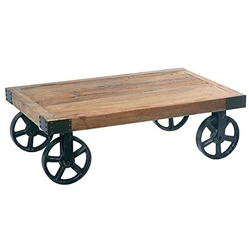 Tavolino su ruote