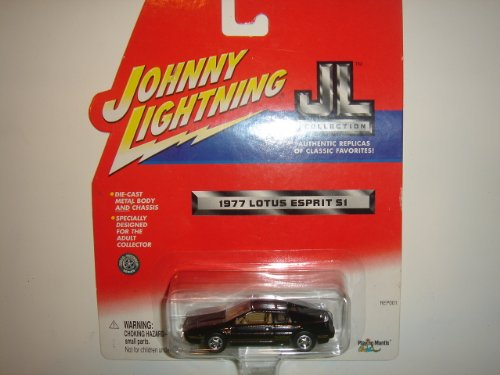 2001 Johnny Lightning JL Collection 1977 Lotus Esprit S1 Black - 1