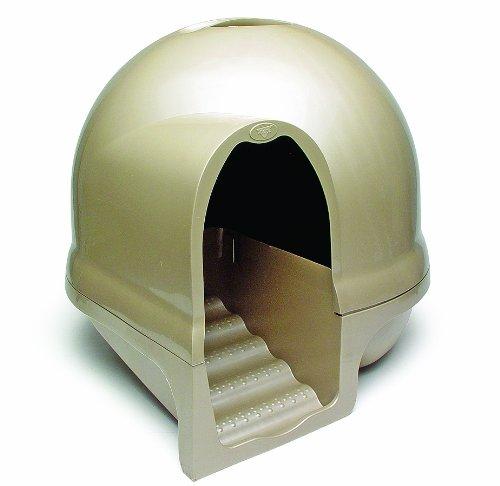 booda-dome-cleanstep-cat-box-titanium