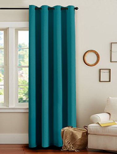 H.Versailtex Blackout Thermal Insulated Kids Boys Room Curtains - 8 Antique Grommets per Panel,52