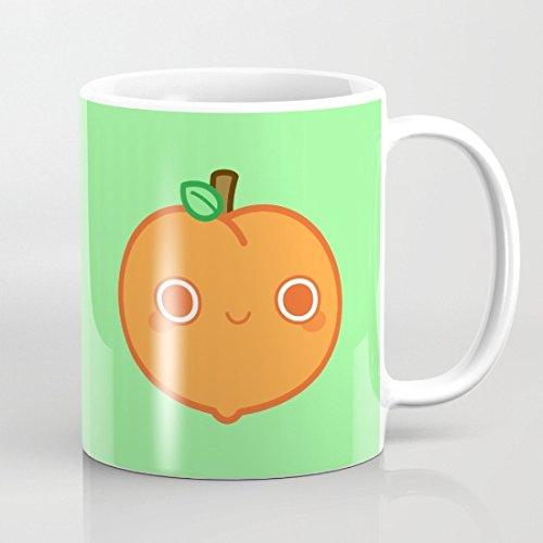 cute-peach-taza-de-cafe-taza-divertida