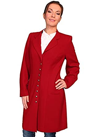 Wahmaker By Scully Womens Crepe Wool Frock Coat  AT vintagedancer.com