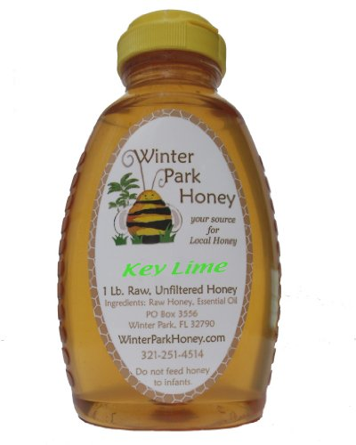 Raw Key Lime Honey 16oz