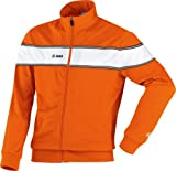 Jako Veste polyester Player orange/weiß, 116