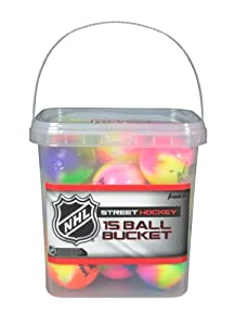 Buy Franklin NHL Extreme Color High Density Street Hockey Ball - Pack of 15 by NHL
