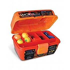 South Bend 88 Piece Worm Gear Loaded Tackle Box