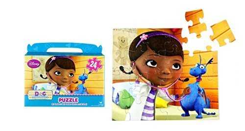 "Disney Junior Doc McStuffins Floor Puzzle Gift Box (24-Piece) 9.1"" X 10.3"" - 1"