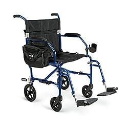 Medline Ultralight Transport Chair, 19\