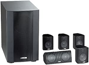 Canton Movie 125 MX 2-Wege 5.1 Lautsprecher-System schwarz