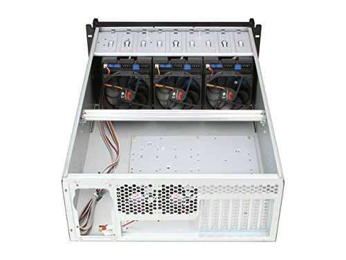Rosewill Server Chassis/Server Case/Rackmount Case, 4U Metal Rack Mount  Server Chassis with 12 Hot Swap Bays