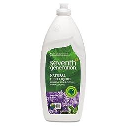 SEV22734 - Natural Dishwashing Liquid, Lavender Floral amp; Mint, 25 Oz. Bottle