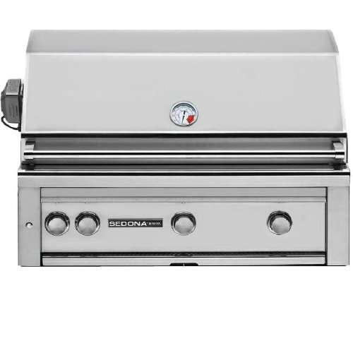 Lynx L600PSR Sedona 36-Inch Built-In Propane Grill with Pro Sear Burner and Rotisserie (Built In Bbq Grill Propane compare prices)