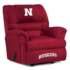 NCAA Nebraska Cornhuskers Big Daddy Microfiber Recliner by Imperial