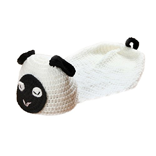Uker Baby Infant Sheep Style Costume Newborn Baby Photography Prop, 0-6 Months