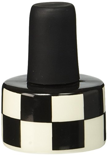 Enesco 4028107 Our Name Is Mud by Lorrie Veasey Half Full Cork Bottle Stopper, 2-Inch - 1