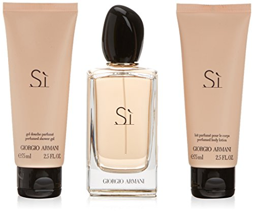 SET SI DE ARMANI EDP 100ML+GEL75+BODY75