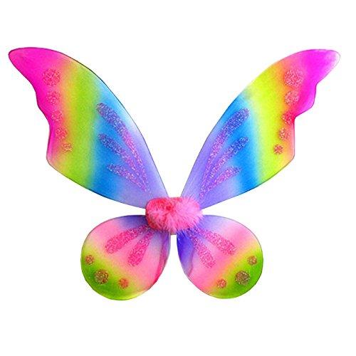 """WeGlow International 23"""" Rainbow Pixie Fairy Wing - 1"""