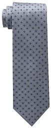 Tommy Hilfiger Men\'s Core Neat II Tie, Silver, One Size