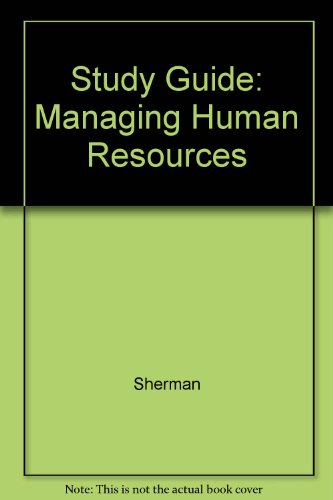Study Guide: Managing Human Resources