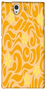 Timpax protective Armor Hard Bumper Back Case Cover. Multicolor printed on 3 Dimensional case with latest & finest graphic design art. Compatible with only Sony L36H - Sony 36. Design No :TDZ-21537
