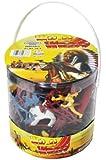 Cowboys & Indians Figure Playset (108pcs/Tub) 1-32 BMC