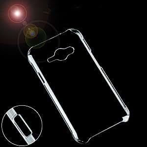 AKSHAJ Premium Quality Transparent Silicone back cover case for SAMSUNG Galaxy J1 ACE / J110H