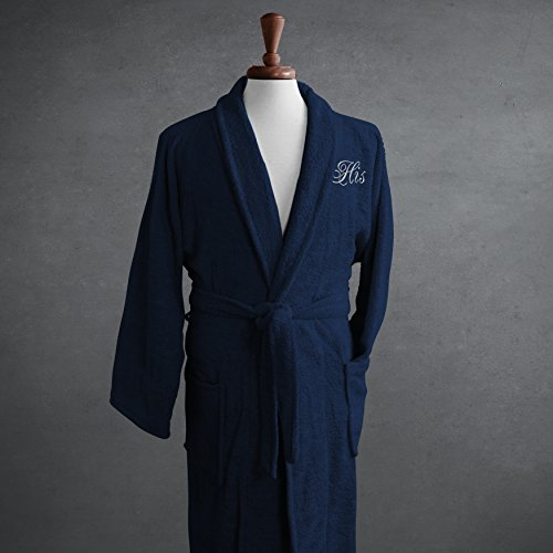 luxor-linens-salerno-egyptian-cotton-his-hers-terry-robe-medium-navy-perfect-wedding-gift-his