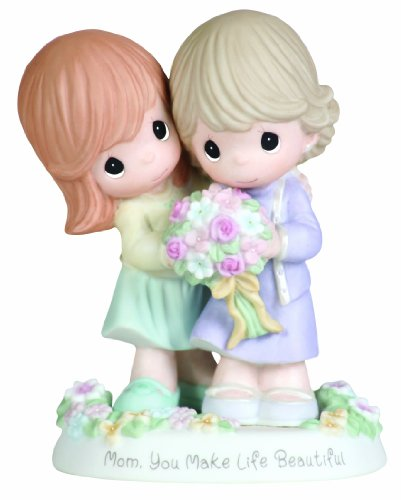 "Precious Moments ""Mom, You Make Life Beautiful"" Figurine"