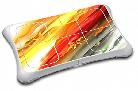 WATERCOLOR Wii Fit Balance Board Vinyl Skin Decal Cover Sticker Protector (Matte Finish)